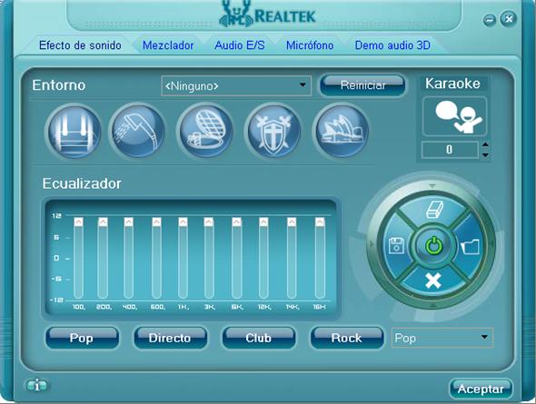 Administrador de sonido Realtek