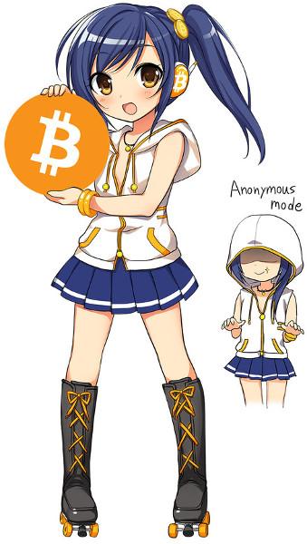 Bitcoin-chan - Anime bitcoin character