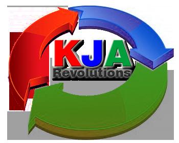 KJA Revolutions logo