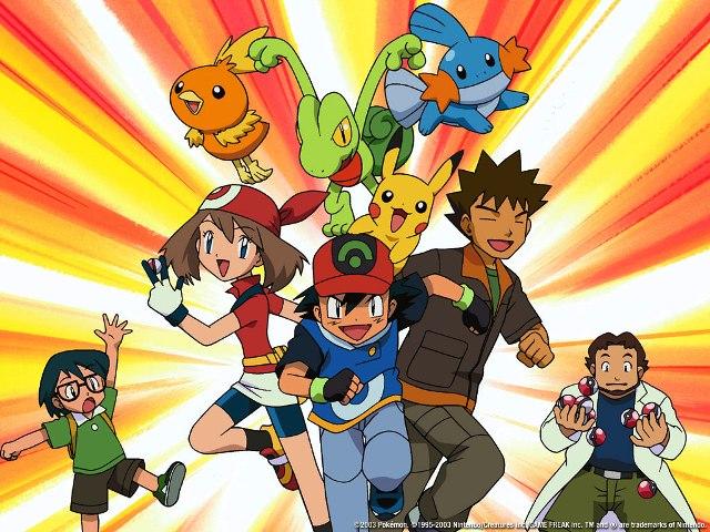 Pokemón Generación Avanzada