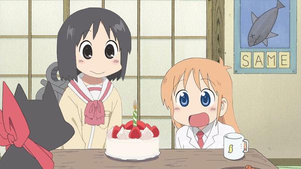 Feliz cumpleaños - Nichijou